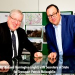 Secretary of State for Transport Patrick Mcloughlin visits Croxley