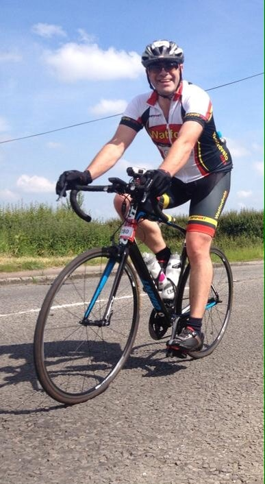 Abbots man to cycle 300 miles in 24 hours for charity