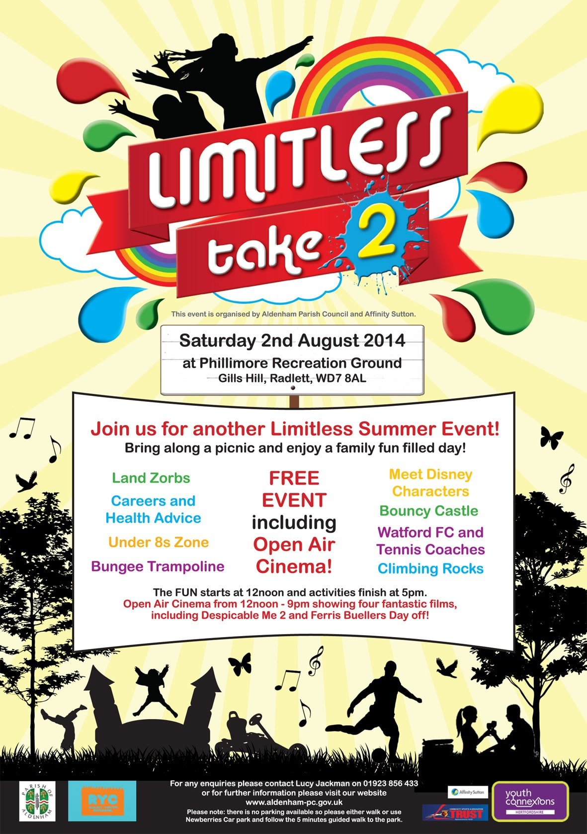 Radlett is Limitless next month
