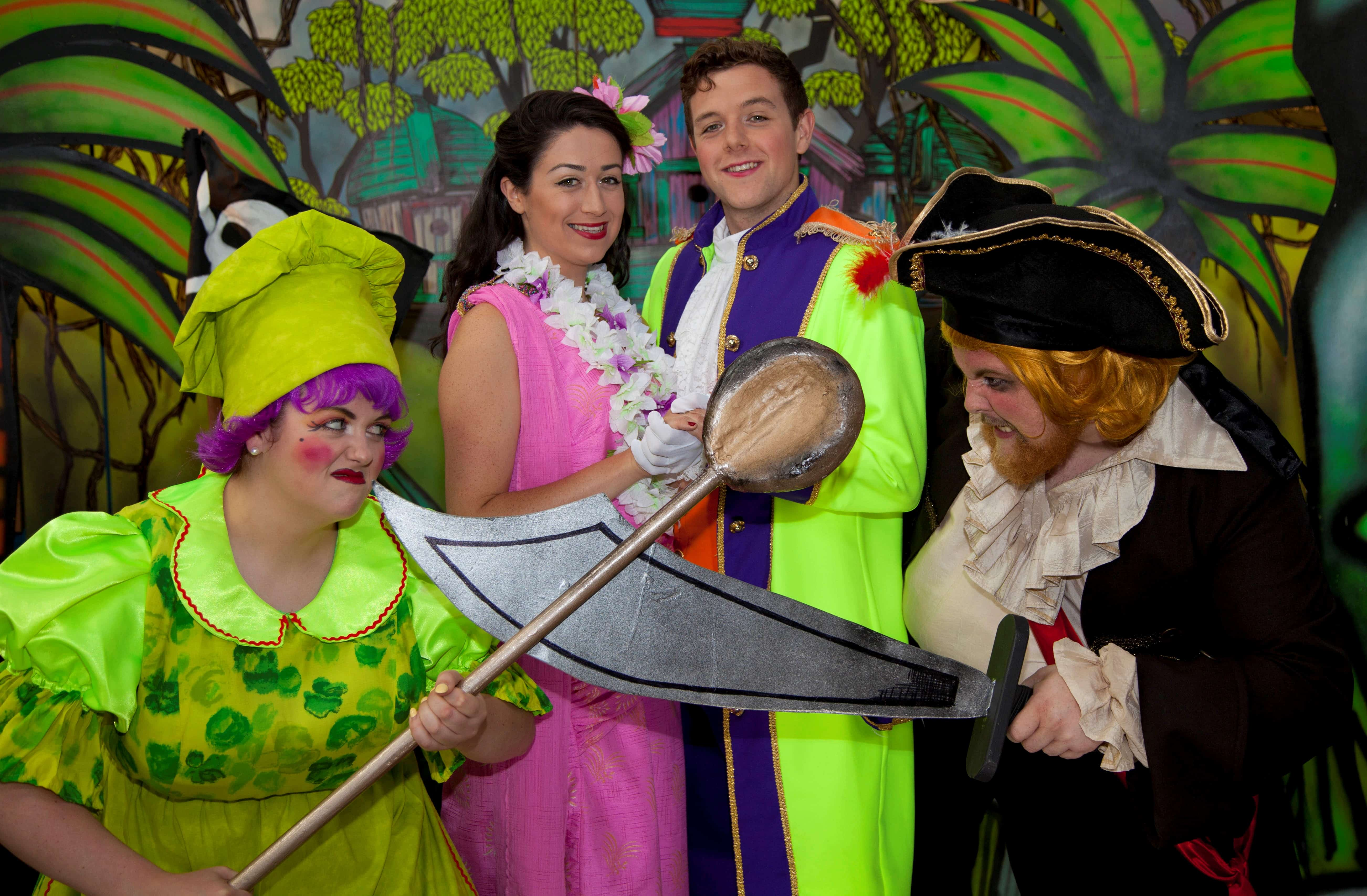 Summer panto brings sunshine to young patients at Watford General