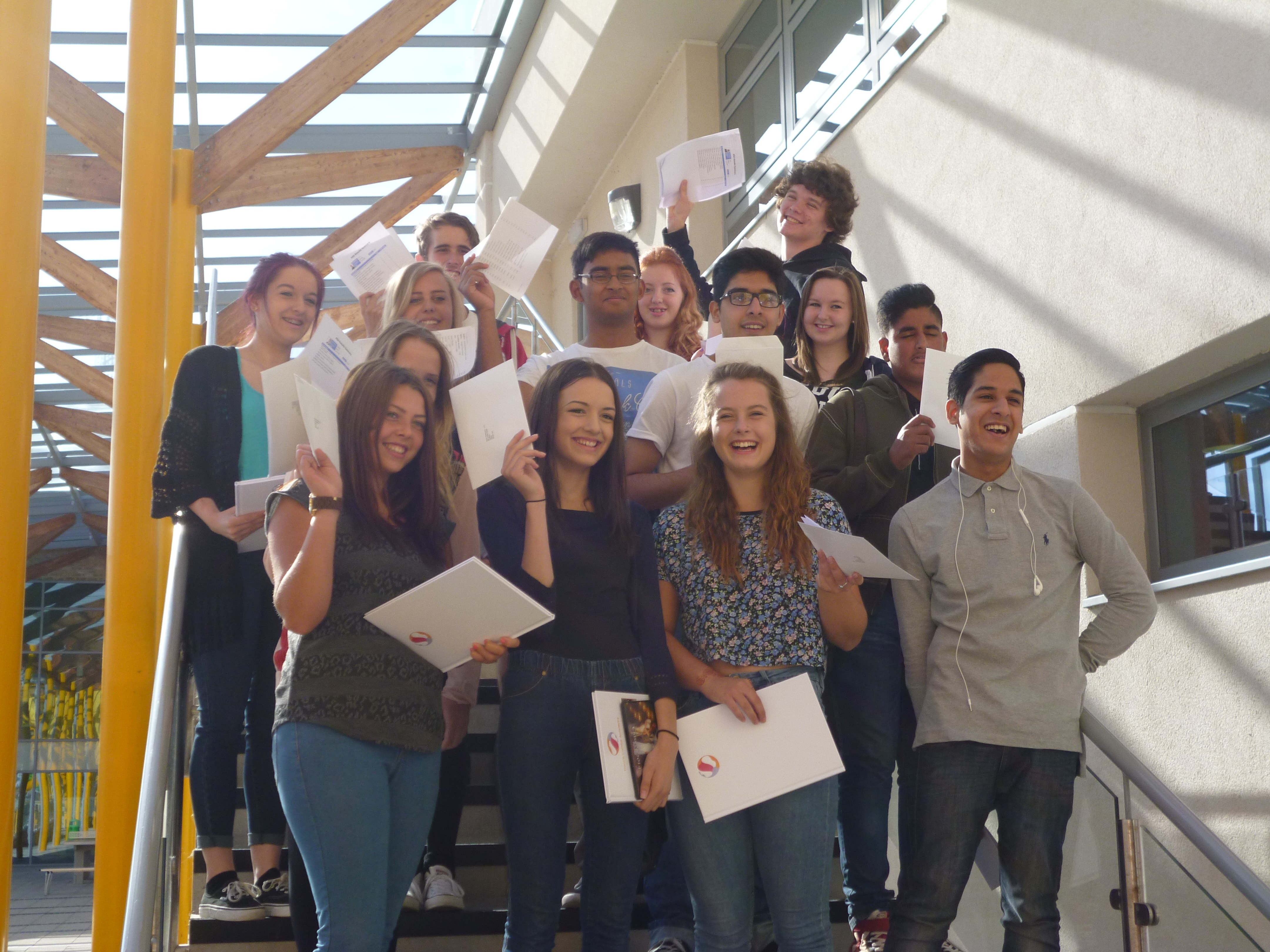 GCSE success for Francis Combe students