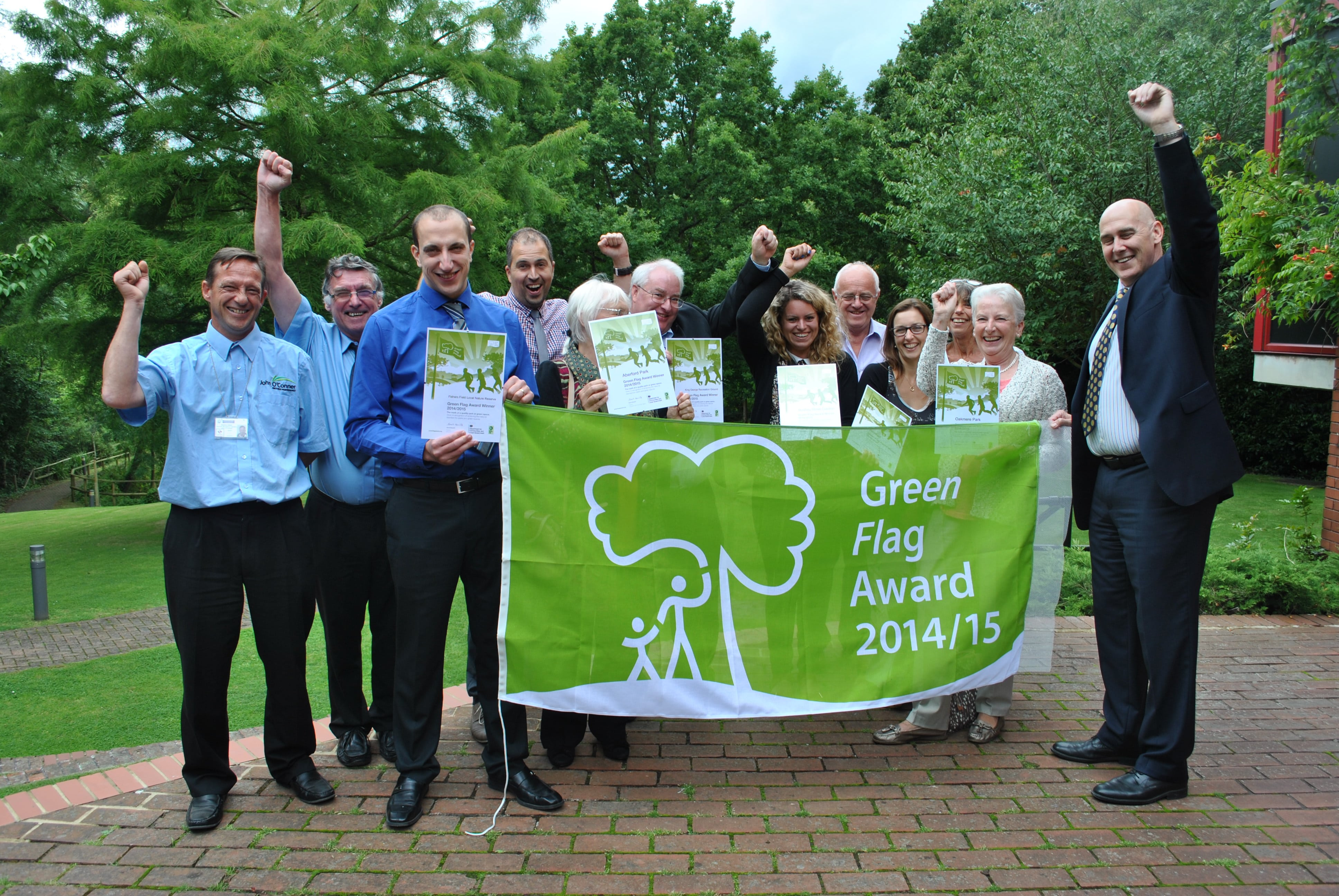 Celebrating Bushey's green spaces