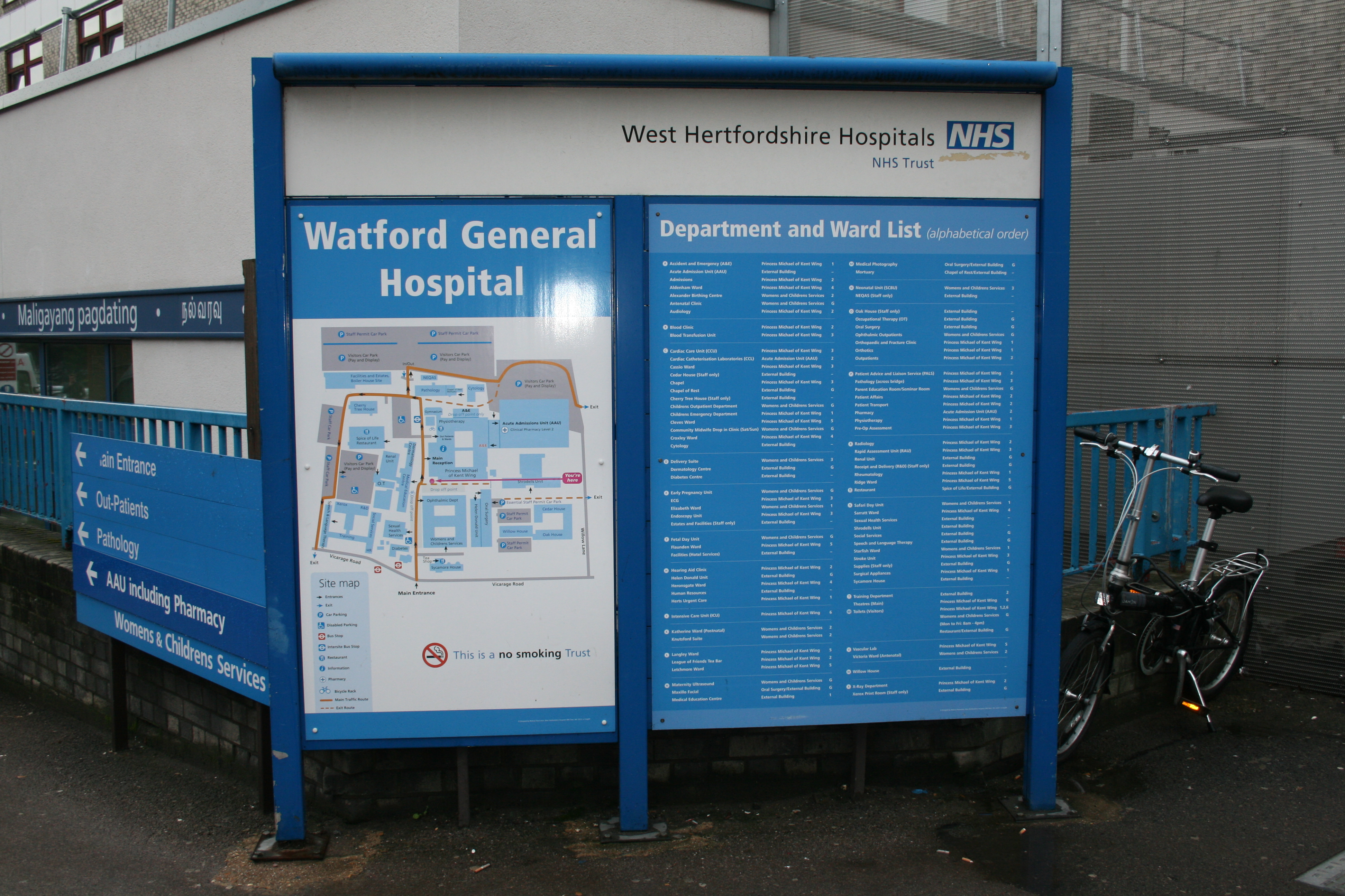 West Herts Hospitals fined over asbestos failings