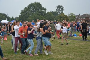 Croxfest's first conga