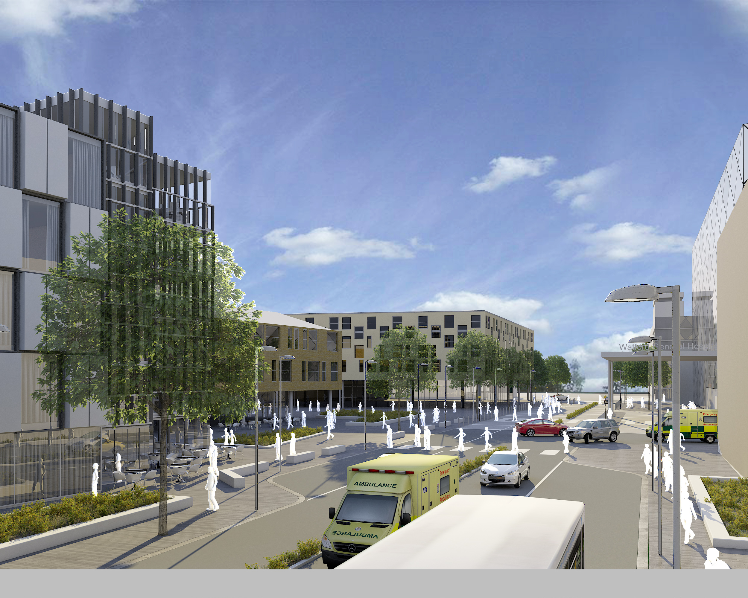 Watford Health Campus gears up following approval of planning application
