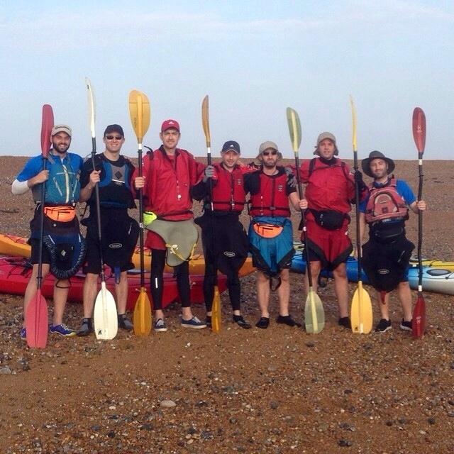 Shenley man and friends kayak across Channel for Alzheimer's Research UK