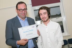 Watford CMT - Bradley Mellor with Richard Harrington MP