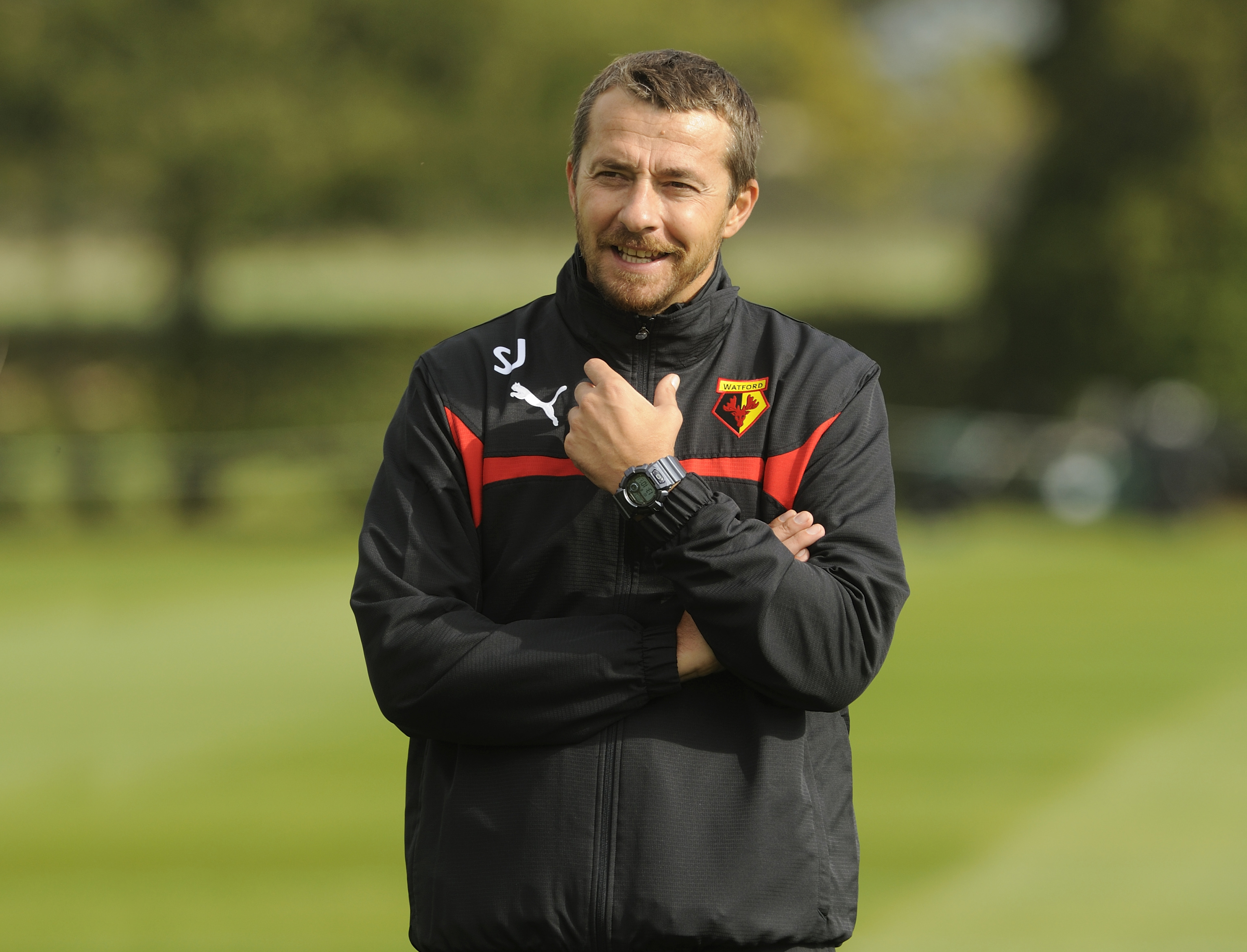 New Watford coach is going for gold