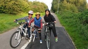Cycle loan scheme - Ayomi Gure and family