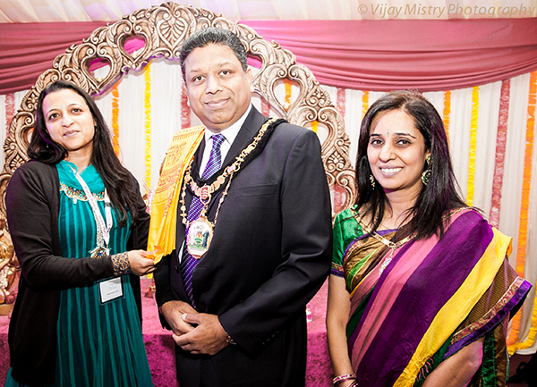 Mayor of Harrow joins in Diwali celebrations