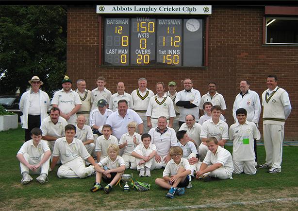 Abbots Langley's Manor House hosts Brian Crook Memorial Match