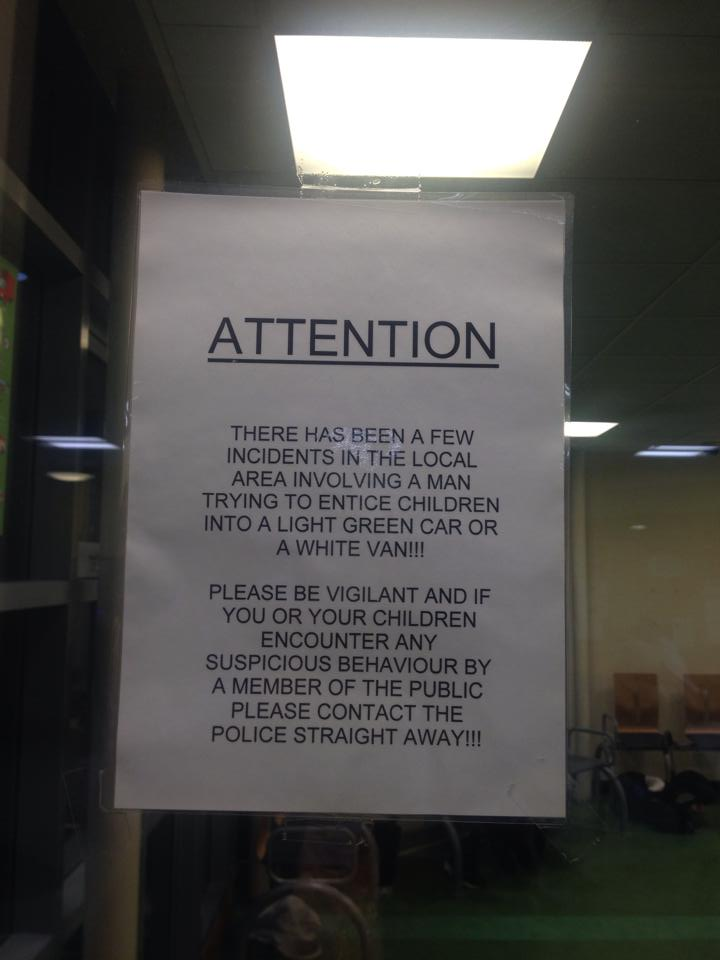 sign in a and e