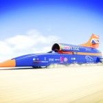 Heathrow UTC host supersonic car project