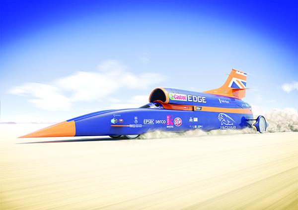 Heathrow UTC host supersonic car project