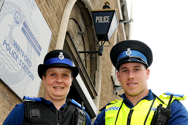 New PCSOs on the beat in Watford