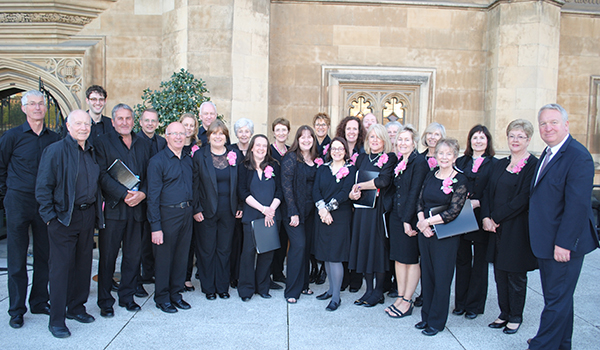 Choir Lord it up at Parliament