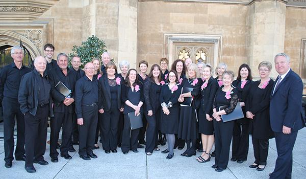 Choir Lord it up at Parliament