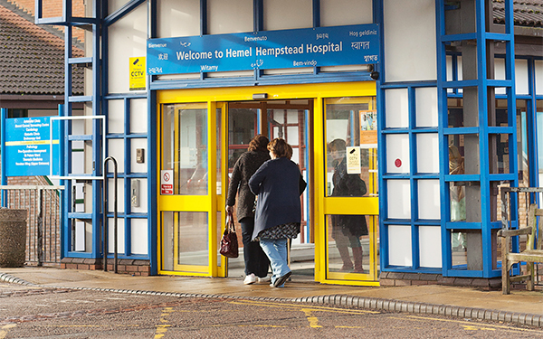 Dramatic fall in infection rates at hospitals in West Herts
