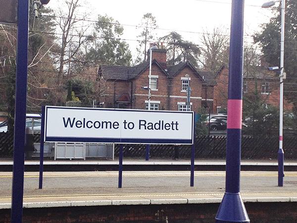 Radlett railway station