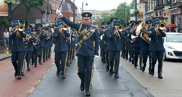 Freedom Parade celebrates RAF Northolt centenary