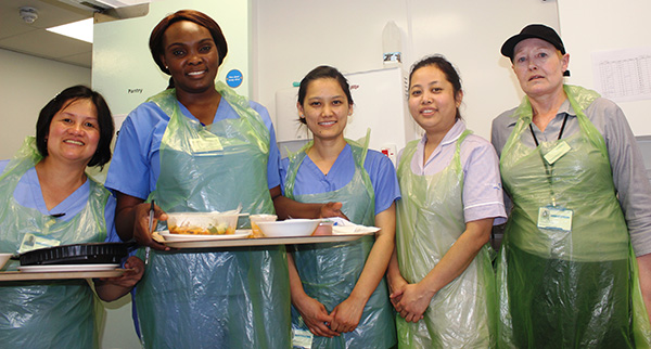 Porters, domestics and catering staff become 'Dementia Friends'