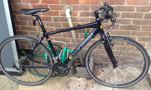 Appeal to trace the owner of a bike which has been recovered