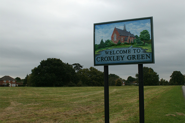 Crime in Croxley on the decrease