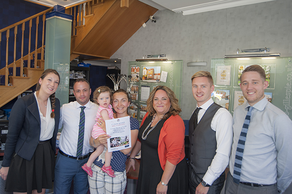 Winners revel in prize draw success