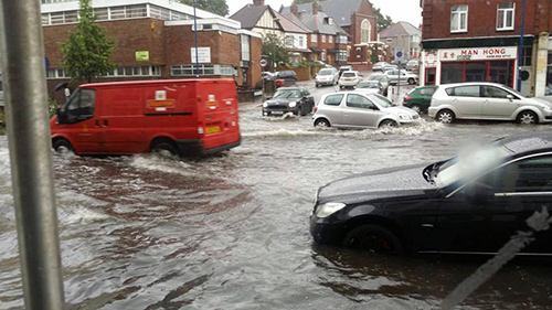 Flash floods cause nightmare for Edgware residents