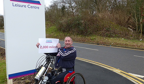 Remarkable man gives local charity a helping hand