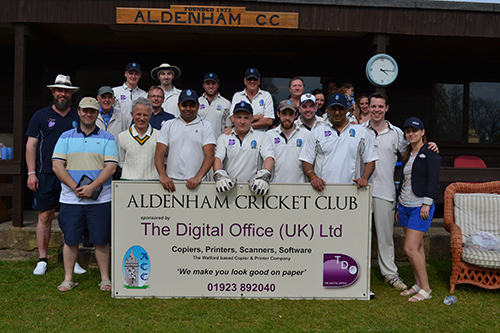 Local cricket club celebrates first ever league game