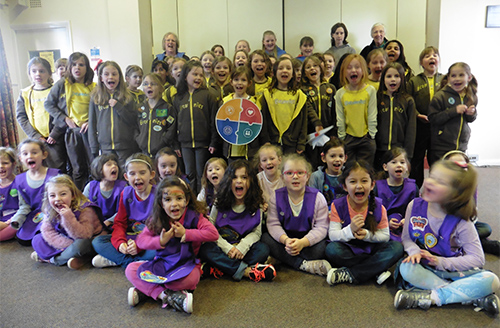 Can you help village Girlguiding unit continue to thrive