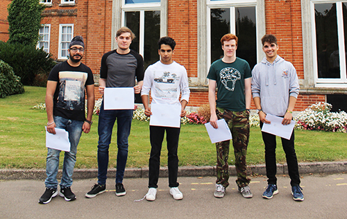 A-level relief as Haberdashers' Boys produce excellent set of results