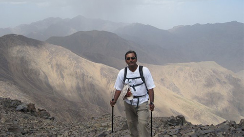 Grandfather to conquer 4,000 metre mountain for charity
