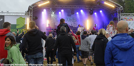 Croxfest success as crowds rave on in the rain