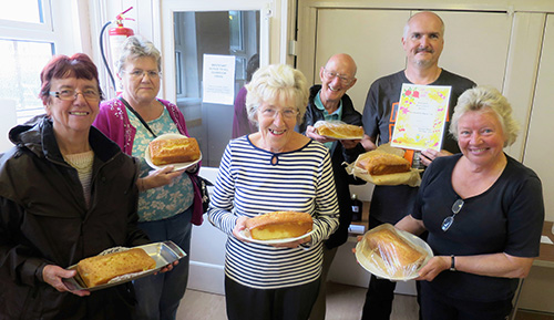 Bake off shows there's no soggy bottom in Bovingdon
