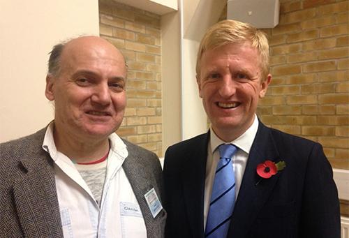 Dowden praises hard work of Radlett Society