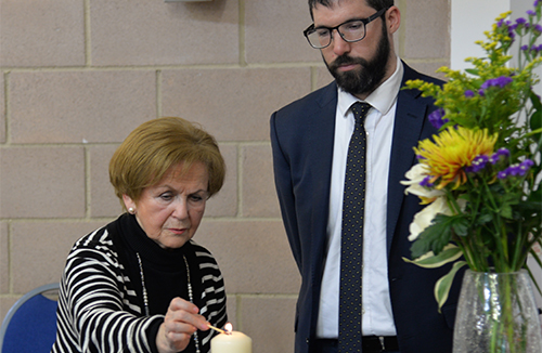 Northwood synagogues welcome over 2,000 students to Holocaust Memorial Day events