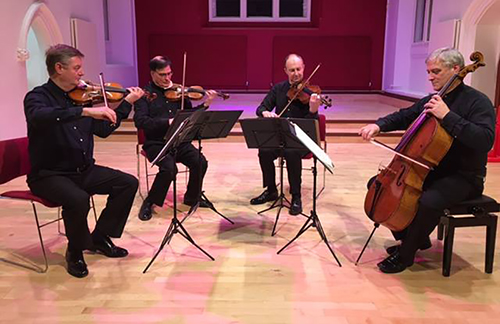 Renowned quartet to play classical music inspired by local area