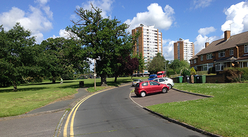 Residents evacuated after fire in Garston high rise flats