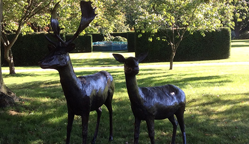 Appeal to trace stolen digger and deer statues
