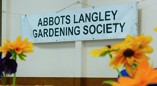 Entrants wanted for Gardening Society's Autumn Show