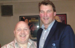 Nik and Matthew Pinsent