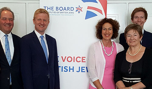 Hertsmere MP re-elected as chair of the All Party Parliamentary Group for British Jews