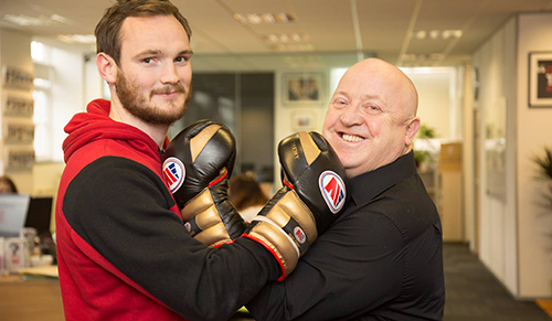 Bushey boxer back in the ring