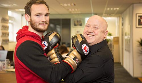 Bushey boxer back in the ring