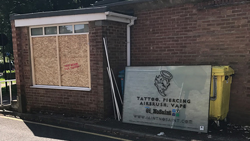 Thieves target Abbots Langley tattoo studio in bank holiday crime spree