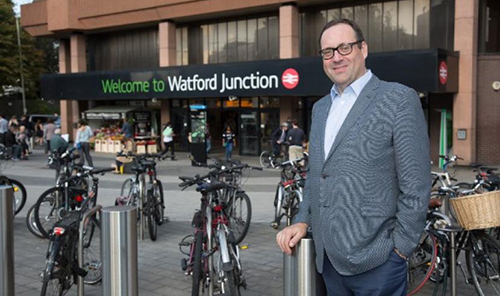 Watford MP meets Chairman of Network Rail to discuss redeveloping Watford Junction