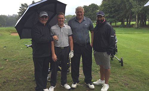 Porters Park team win at the Aspire Golf Day