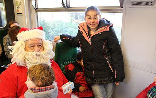 All aboard the Santa Express